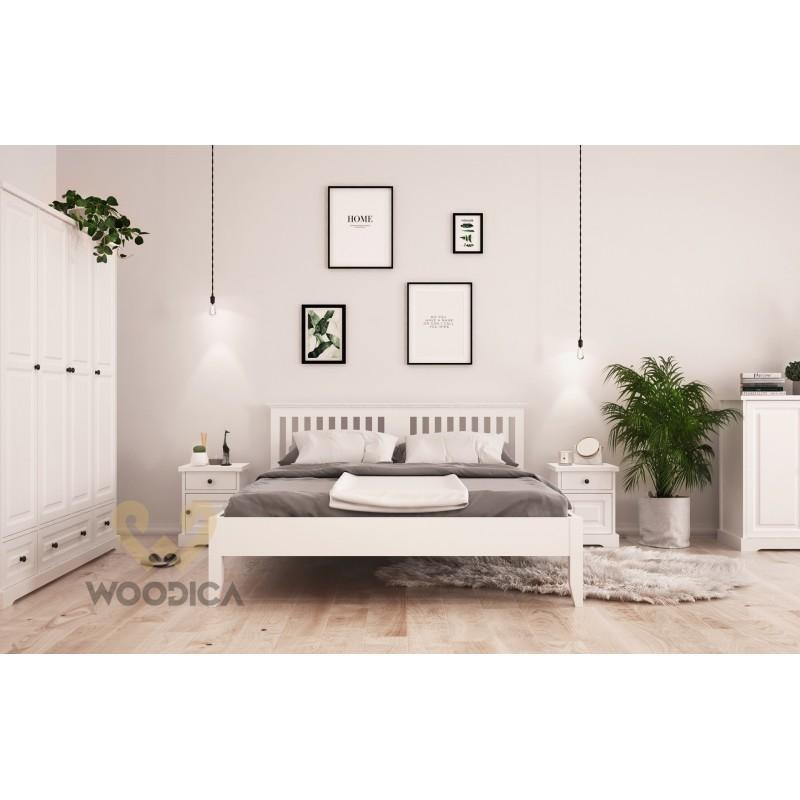 Biała szafa drewniana Parma 10 w stylu nowoczesnym>                                         <span class=