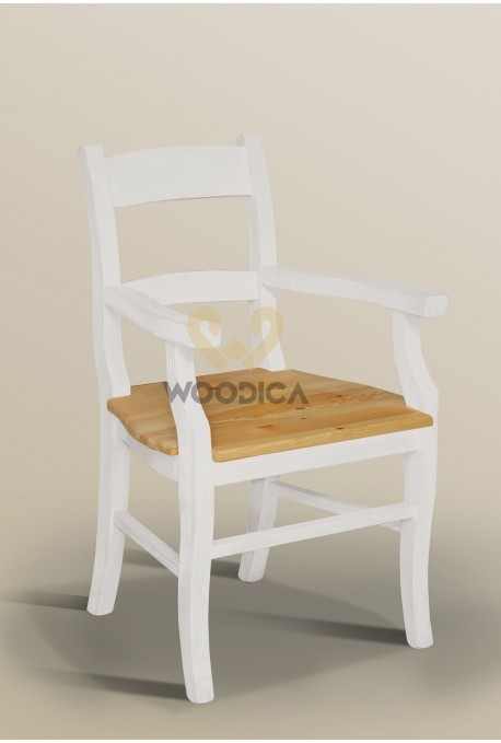 Fotel Nicea 32 X sosnowy