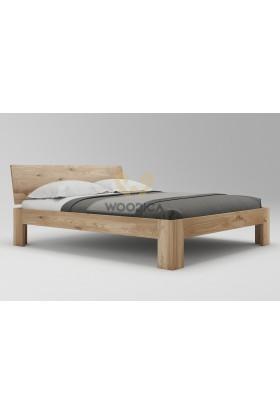 Łóżko dębowe Vernalis 04