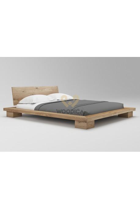 Łóżko dębowe Cerasus 03