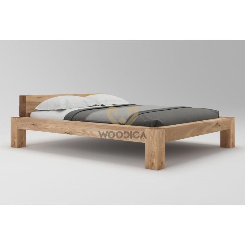 Łóżko dębowe Syringa 04>                                         <span class=
