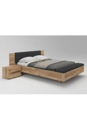 Łóżko dębowe Lewitujące 01