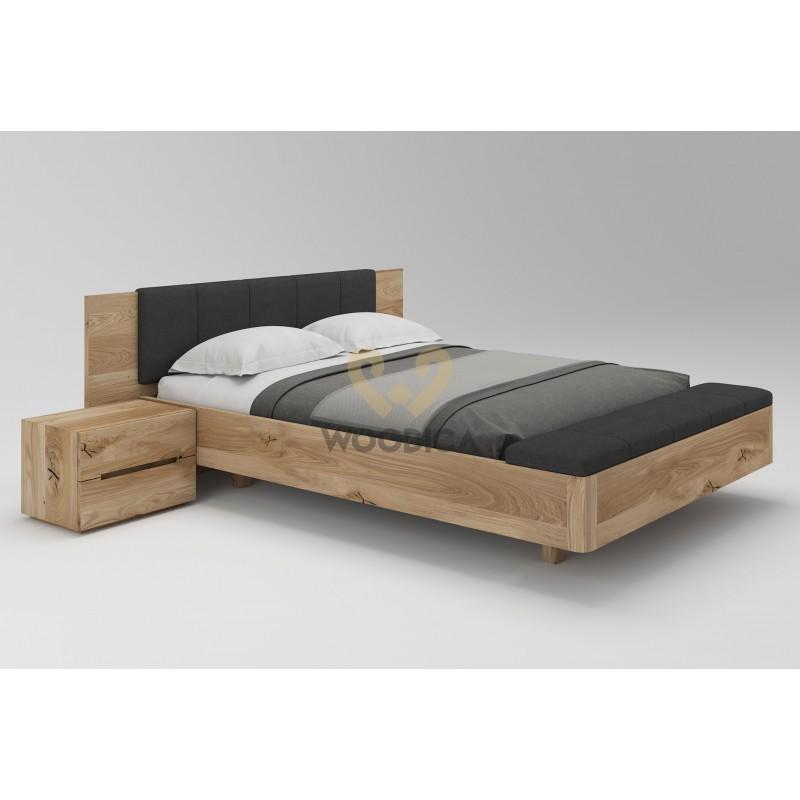 Łóżko dębowe Lewitujące 01>                                         <span class=