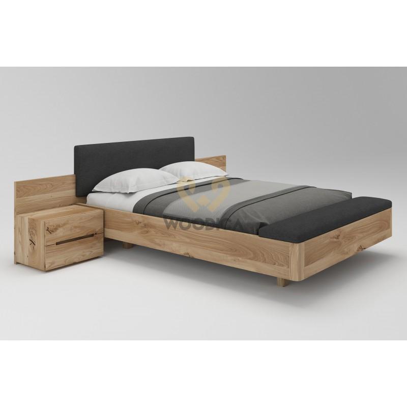 Łóżko dębowe Lewitujące 02>                                         <span class=