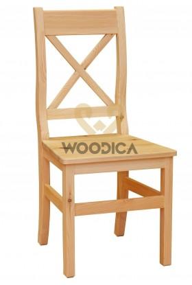 Krzesło sosnowe Klasyczne 08 do kuchni