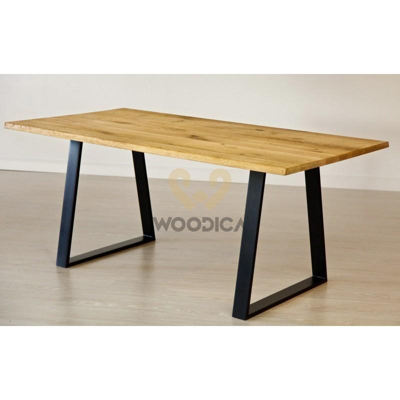 Stół dębowy na metalowych nogach 11>                                         <span class=