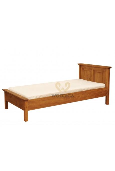 Łóżko z litego drewna Hacienda 02 w stylu retro