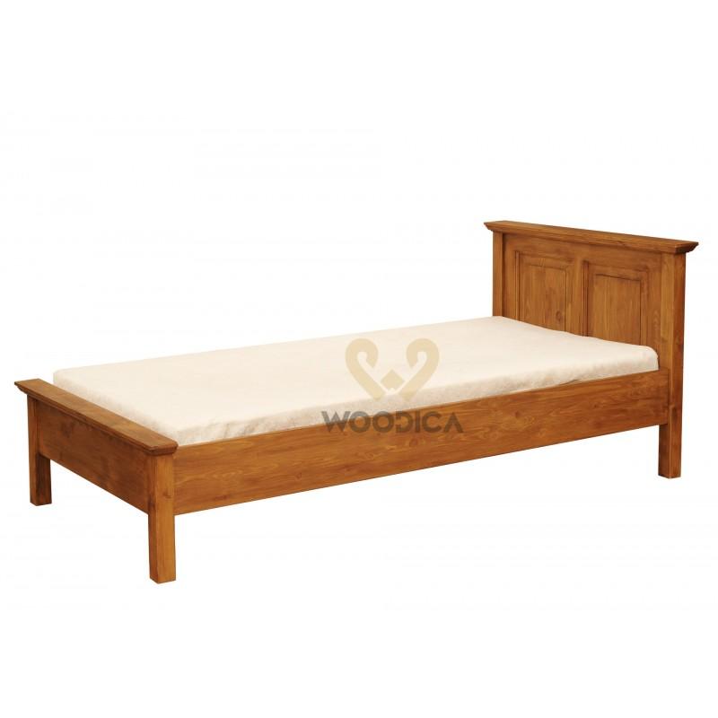 Łóżko z litego drewna Hacienda 02 w stylu retro>                                         <span class=