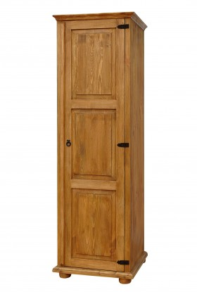 Rustykalna szafa drewniana Hacienda 01 do salonu