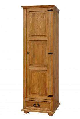 Rustykalna szafa drewniana Hacienda 04 do salonu