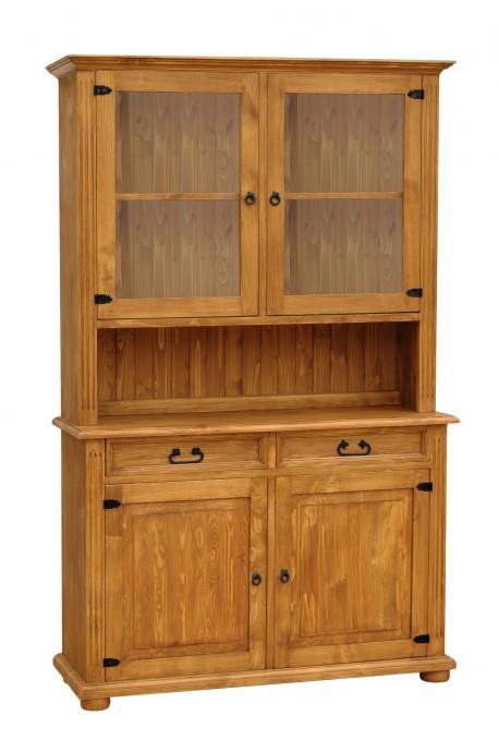Rustykalny kredens drewniany Hacienda 01 do salonu lub kuchni