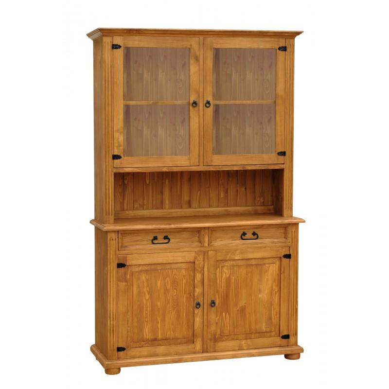 Rustykalny kredens drewniany Hacienda 01 do salonu lub kuchni>                                         <span class=