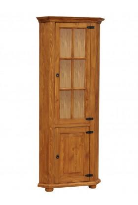 Rustykalna witryna drewniana Hacienda Rog do salonu