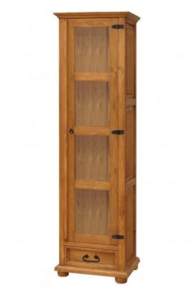 Rustykalna witryna drewniana Hacienda 01 do salonu