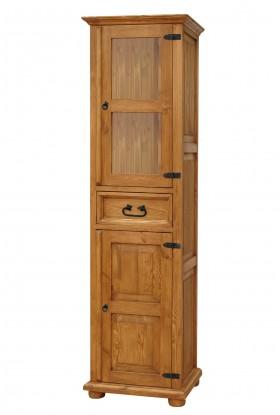 Witryna drewniana Hacienda 04 do salonu