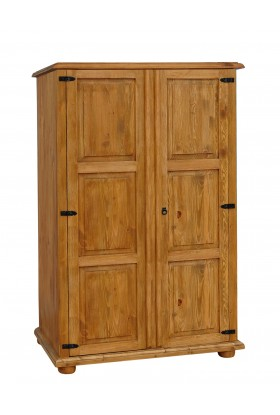 Rustykalna bieliźniarka drewniana Hacienda 19 do sypialni