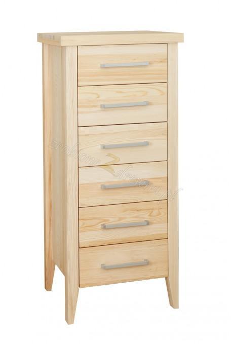 Nowoczesna komoda drewniana Torino 28 do salonu