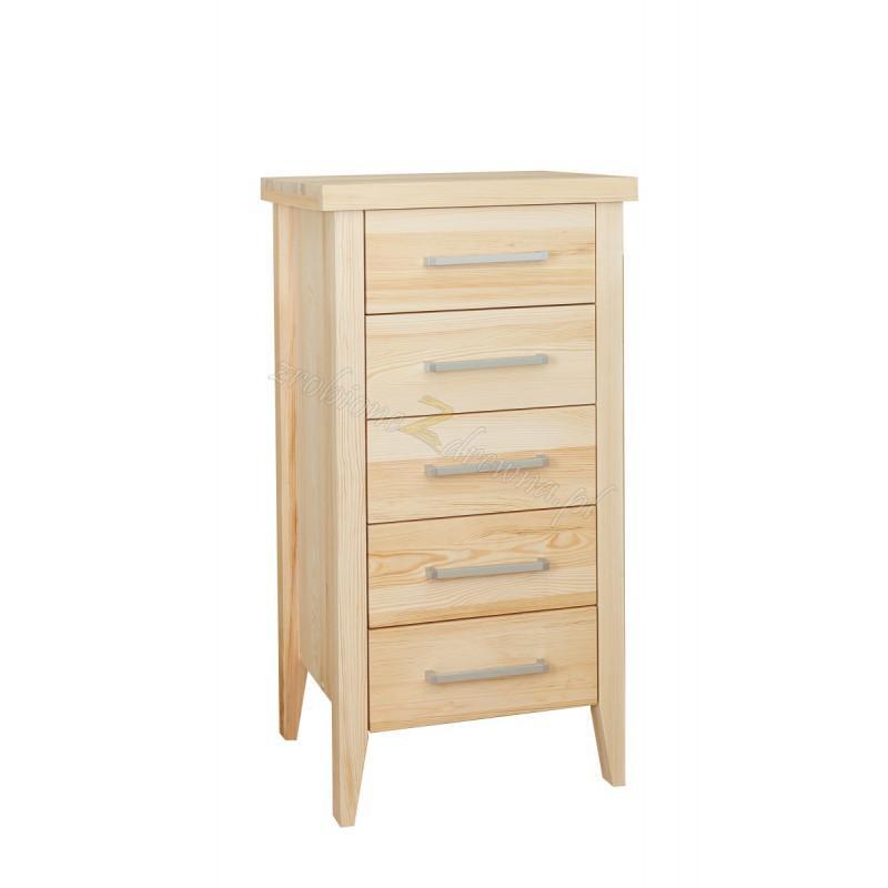Nowoczesna komoda z litego drewna Torino 29 do sypialni>                                         <span class=