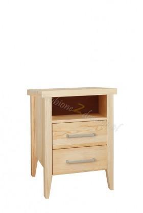 Nowoczesna komoda z litego drewna Torino 32 do sypialni