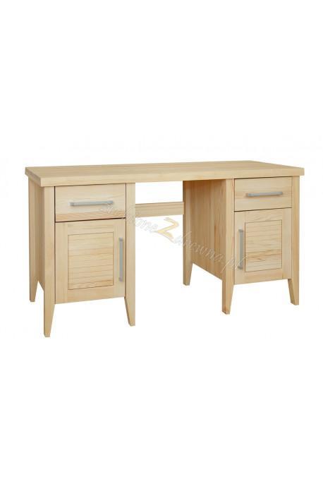 Nowoczesne biurko drewniane Torino 34 do pracowni