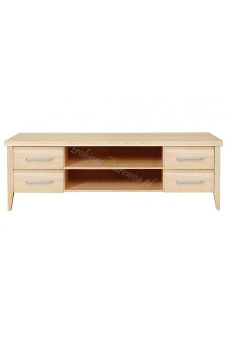 Nowoczesna szafka RTV drewniana Torino 37 do salonu