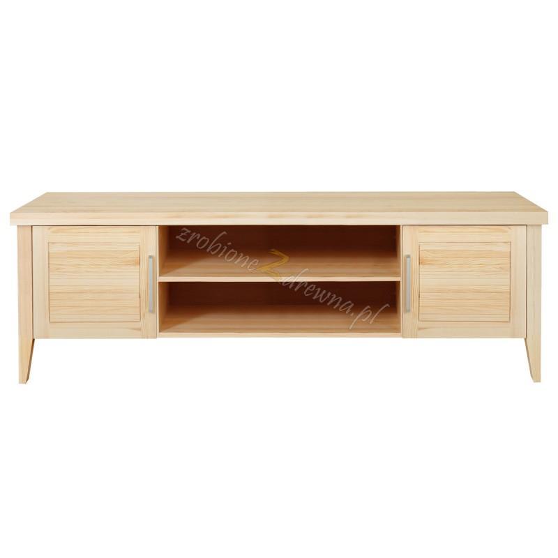 Nowoczesna szafka RTV z litego drewna Torino 38 do salonu>                                         <span class=