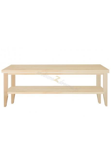 Nowoczesny stolik drewniany Torino 40 do salonu