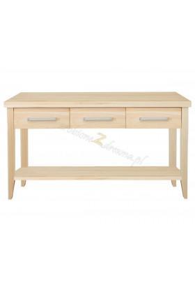 Nowoczesny stolik z litego drewna Torino 42 do salonu