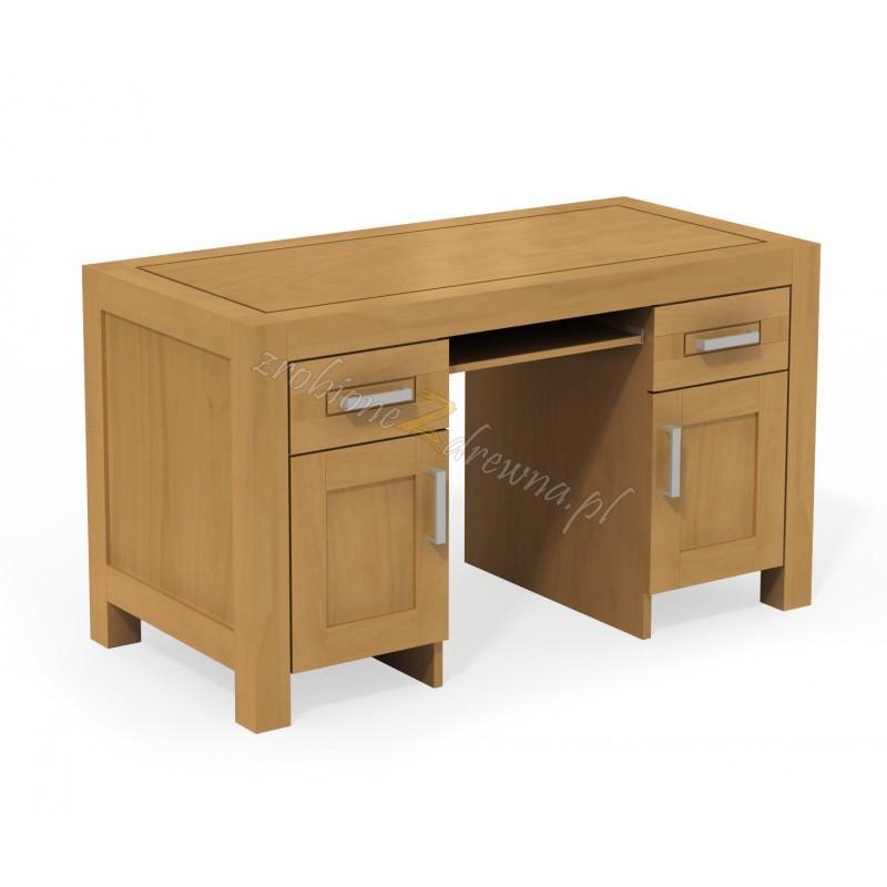 Nowoczesne biurko Rodan 29 z litego drewna brzozowego>                                         <span class=