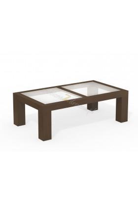 Woskowany stół brzozowy Rodan 30 do salonu