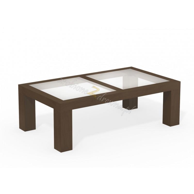 Woskowany stół brzozowy Rodan 30 do salonu>                                         <span class=