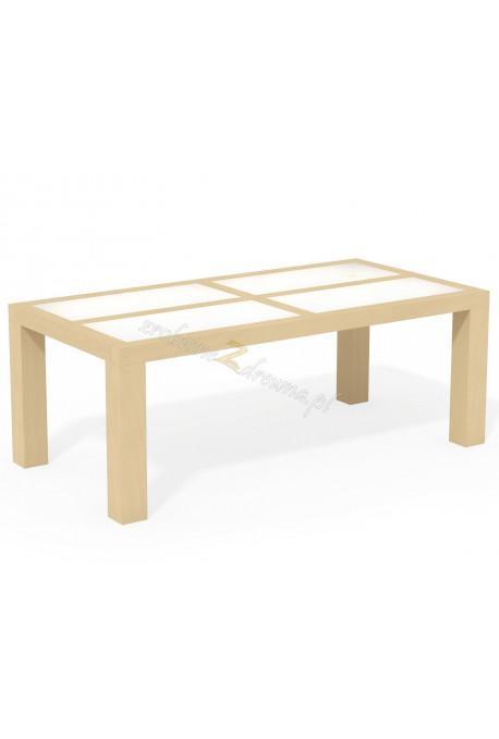 Woskowany stół brzozowy Rodan 33 do salonu