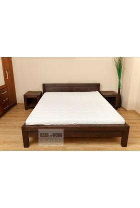 Łóżko brzozowe Rodan 37 do sypialni
