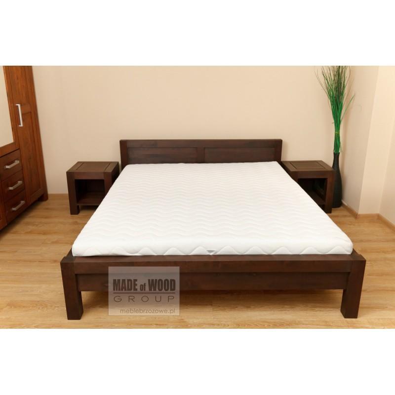 Łóżko brzozowe Rodan 37 do sypialni>                                         <span class=
