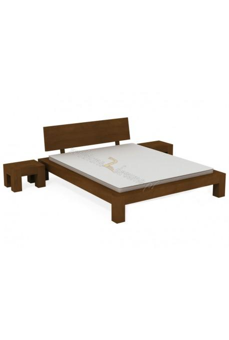 Łóżko brzozowe Rodan 41 do sypialni
