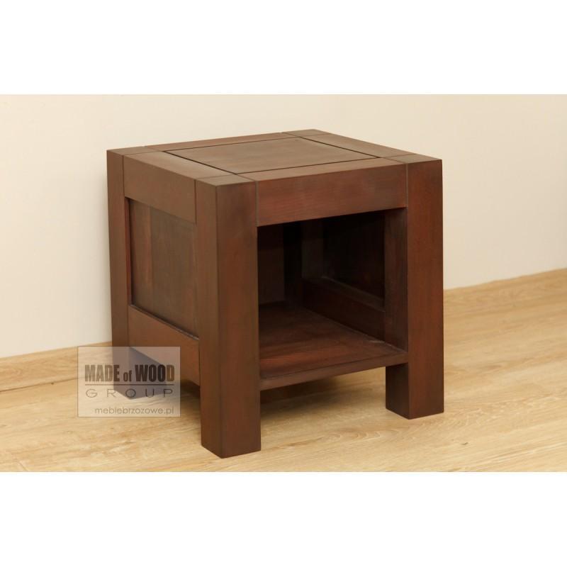 Nowoczesna szafka nocna Rodan 44 z litego drewna brzozowego>                                         <span class=
