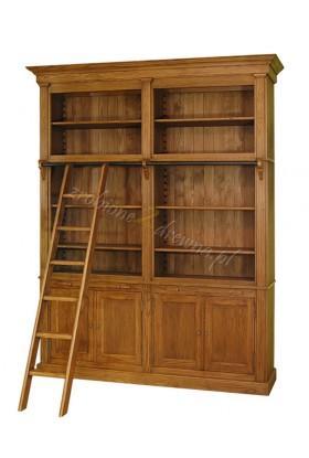 Regał sosnowy Nicea 08 do salonu lub biblioteki