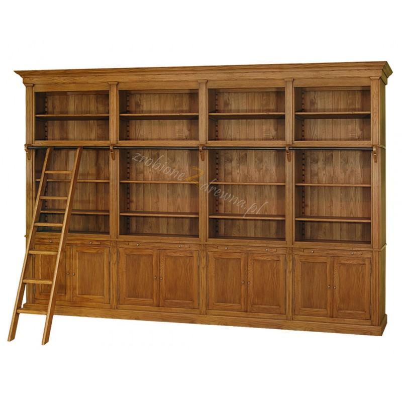 Regał drewniany Nicea 10 w stylu prowansalskim>                                         <span class=