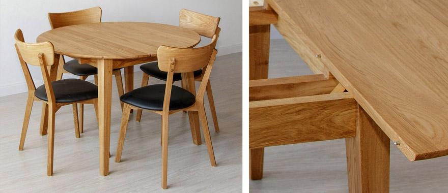 Stół dębowy do salonu