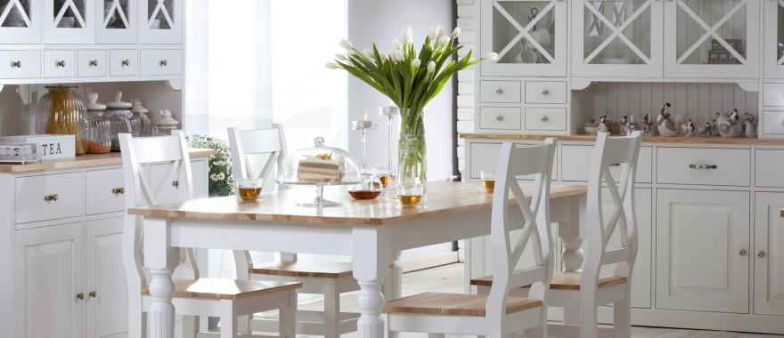 Kredensy stół krzesła Nicea