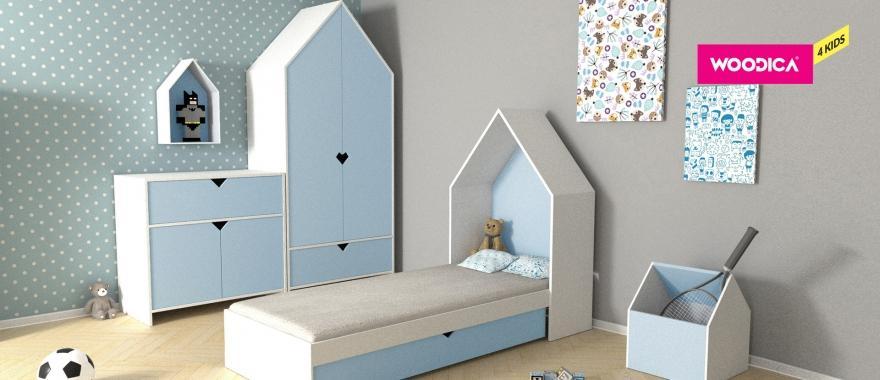 Meble dziecięce Home w kolorze niebieskim