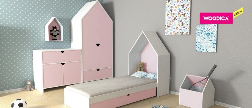 Meble dziecięce Home w kolorze różowym