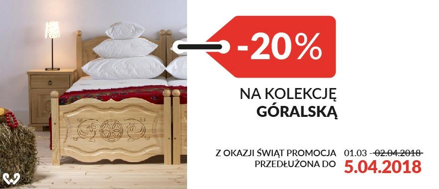 Promocja -20% na meble z kolekcji Góralskiej