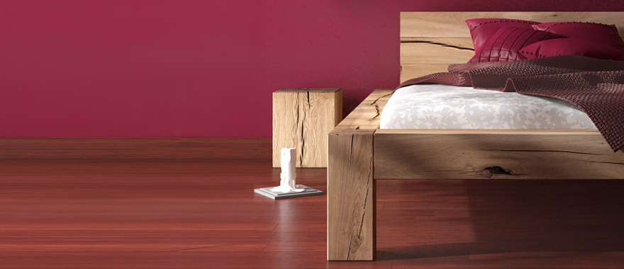 Łóżko dębowe Muscari