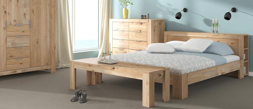 Łóżko dębowe 100% drewno