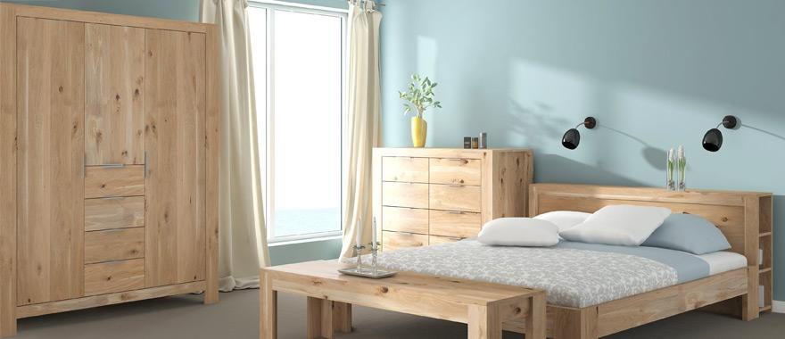 Meble dębowe Vernalis szafa do sypialni